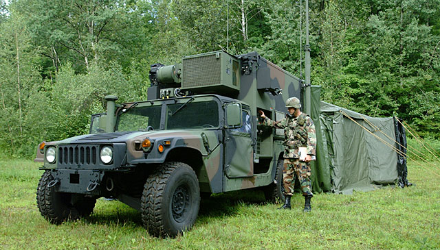 Ever since the Army had need for centralized communications in the field the command ost was a shack tent bunker foxhole or wherever soldiers could ... & S-787 SICPS - HMMWV In Scale