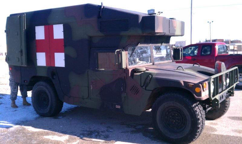 truck, ambulance, 4-litter, armored, 4x4, m997