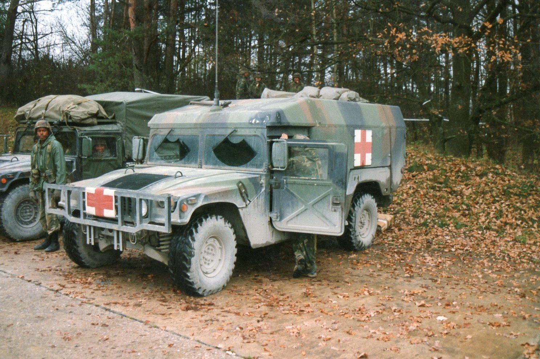 truck, ambulance, 2-litter, armored, 4x4, m996