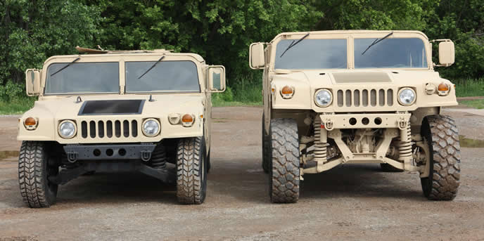 hmmwv with is